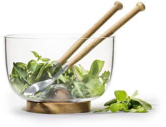 Sagaform Nature Serving Bowl and Utensils Gift Set