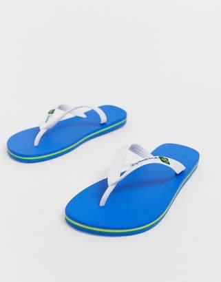 Ipanema brazil 21 flip flop in white/blue