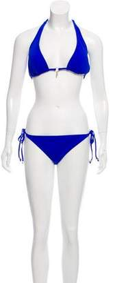 Melissa Odabash Triangle Two-Piece Swimsuit w/ Tags