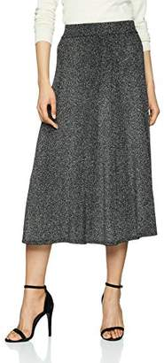 Warehouse Women's Sparkle Midi Skirt