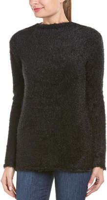 Anine Bing Fuzzy Open Back Sweater