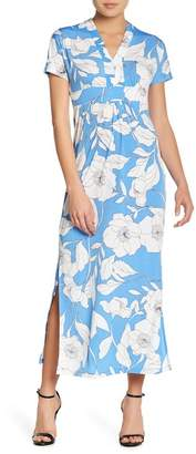 London Times Patterned Maxi Dress (Petite)