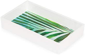 MADHOUSE by Michael Aram Palm Napkin Tray - Green/White