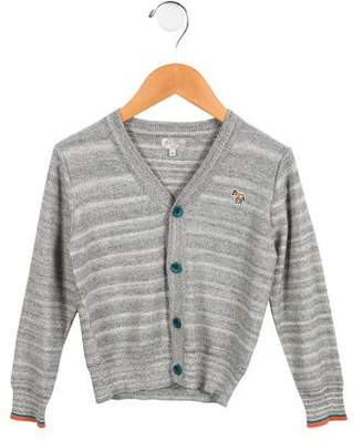 Paul Smith Boys' Striped Knit Cardigan