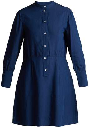 A.P.C. Kimya long-sleeve midi dress