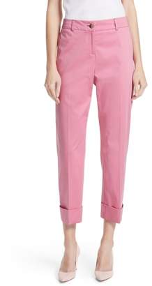 Ted Baker Saydii Deep Cuff Stretch Cotton Chino Pants