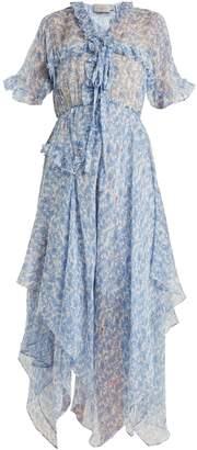 Preen by Thornton Bregazzi Lilou floral-print silk-chiffon dress