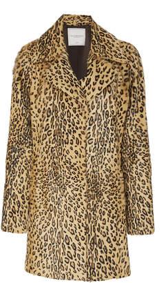 Pologeorgis Constance Leopard Coat