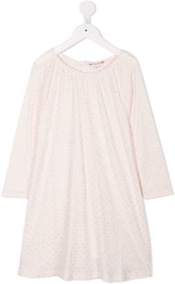 Bonpoint star print dress and underwear set
