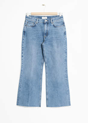 And other stories Cropped Flare Jeans