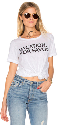 Chaser Vacation Por Favor Tee $62 thestylecure.com