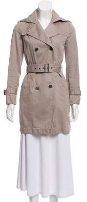 Comptoir des Cotonniers Double- Breasted Trench Coat