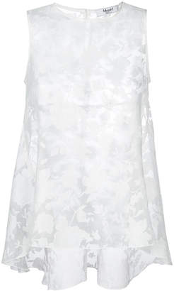 Blugirl sheer lace vest top