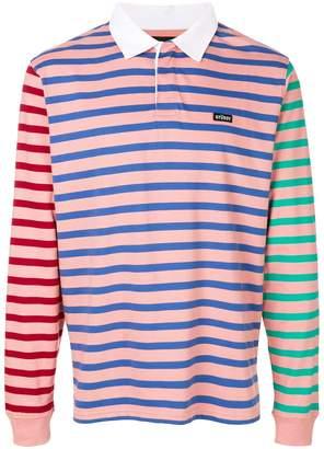 Stussy Jonah striped rugby sweatshirt