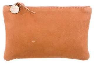 Clare Vivier Grain Leather Pouch