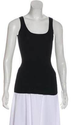 Burberry Sleeveless Cashmere Top