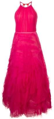 Marchesa long tulle dress