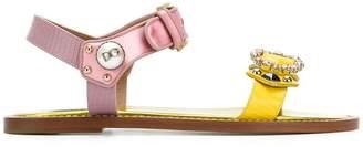 Dolce & Gabbana appliqué sandals