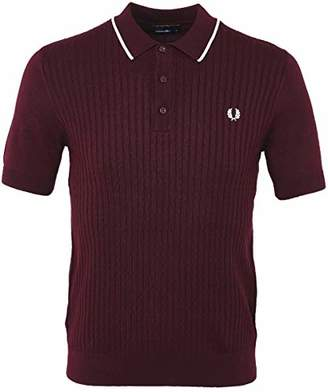 Fred Perry Men's Tipped Knitted Shirt