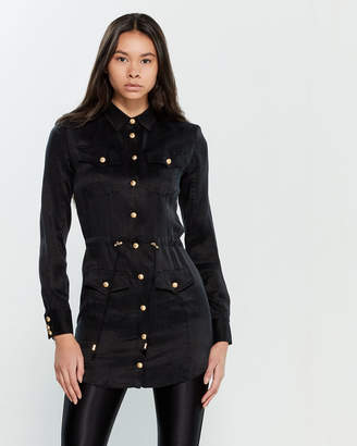 Balmain Black Tunic Shirt
