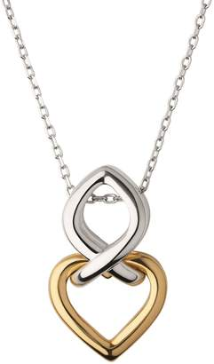 Links of London Yellow Gold Vermeil & Sterling Silver Infinite Love Necklace