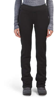 Brushed Fleece Lined Bootcut Pants
