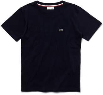 Lacoste (ラコステ) - Boys コットンジャージー クルーネックTシャツ