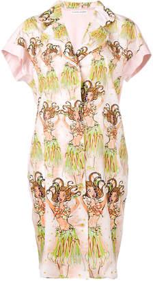 Tsumori Chisato printed shirt dress