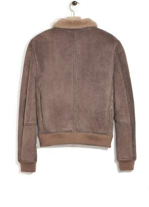 3.1 Phillip Lim Shearling-Lined Pilot Bomber Jacket