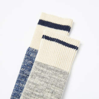 Roots Womens Cotton Cabin Sock 2 Pack