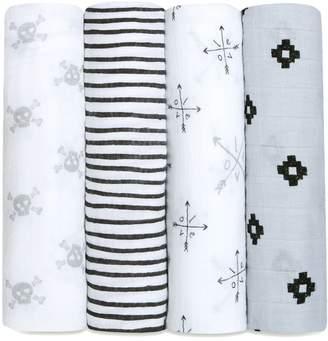 Aden Anais aden + anais 4-Pack Classic Swaddling Cloths