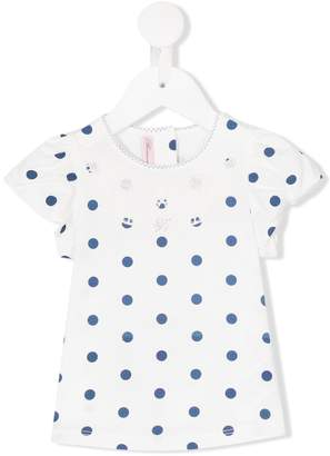 Miss Blumarine polka dot T-shirt