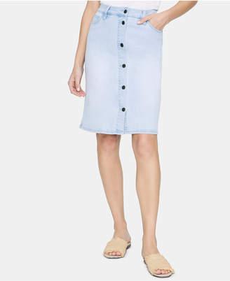 e8857faae Sanctuary Lillian Denim Button-Down Skirt
