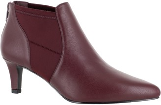 Easy Street Shoes Pointed-Toe Heeled Booties - Saint