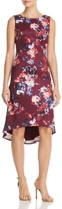 Adrianna Papell Floral Scuba Dress