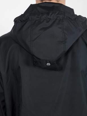 Burberry monogram motif hooded jacket