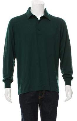 Loro Piana Cashmere Polo Sweater