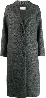 RED Valentino oversized herringbone coat
