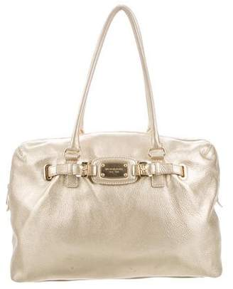 08b6fe59feb4 Pre-Owned at TheRealReal · MICHAEL Michael Kors Metallic Leather Tote