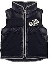 Moncler Kids' Gomont Down-Quilted Vest - Navy