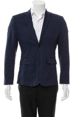 Shipley & Halmos Denim Two-Button Blazer