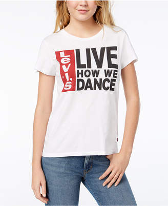 Levi's Live How We Dance Graphic T-Shirt