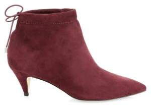 Kate Spade Sophie Suede Ankle Boots
