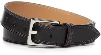 Donald J Pliner FRANCO, Shine Calf Leather Belt