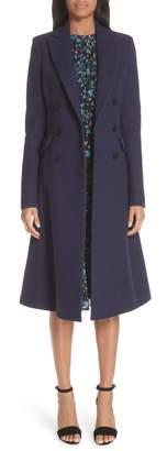 Altuzarra Wool Blend Double Breasted Coat
