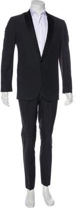 Maison Margiela Silk Shawl-Lapel Tuxedo
