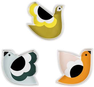 Orla Kiely Ceramic Snack Bowls - Set of 3 - Birds