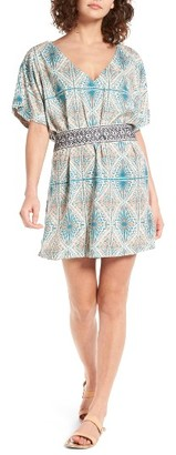 Women's Roxy Delicate Embroidered Belt Dress $59.50 thestylecure.com