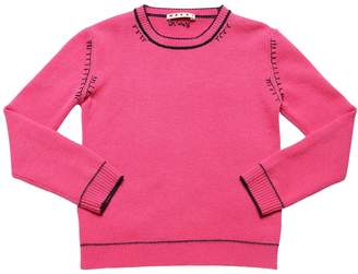 Marni Junior WOOL & CASHMERE BLEND KNIT SWEATER