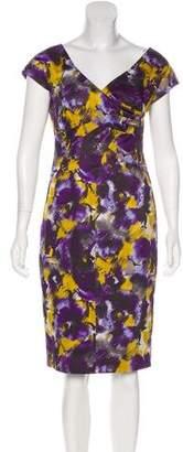 MICHAEL Michael Kors Splatter Print Knee-Length Dress